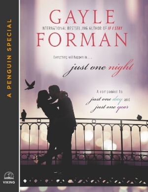 Review: Just One Night by Gayle Forman