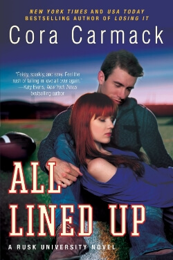 Review: All Lined Up by Cora Carmack
