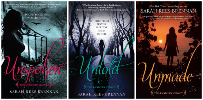 Review: The Lynburn Legacy by Sarah Rees Brennan